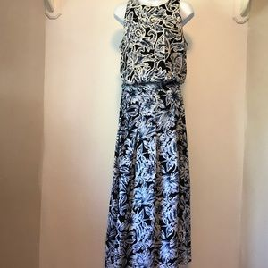 Sarah Elizabeth Blue Maxi dress Size 12